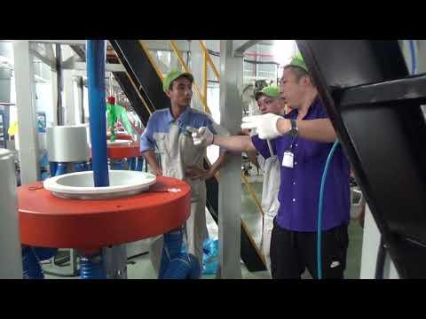 Kỹ Sư Trung Quốc Hướng Dẫn Sử Dụng Máy Thổi Cao Tần HD túi Siêu Thị