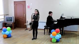 В. Зубков Встреча (из к/ф Цыган) - Екатерина Фатеева, саксофон-тенор