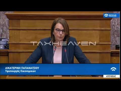 Ομιλία της Α. Παπανάτσιου στην Ολομέλεια (25-01-2018)