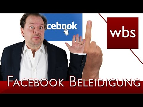 Beleidigung auf Facebook