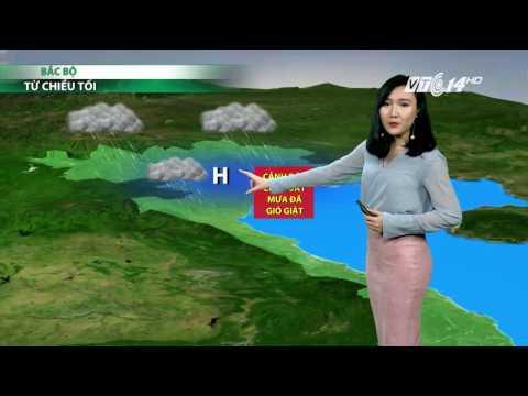 (VTC14)_Thời tiết 6h ngày 21.04.2017