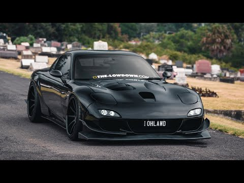Triple Black; 500HP Mazda RX-7 | 4K