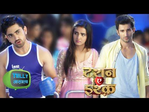 Kunj & Yuvraj Fight In Front Of Twinkle   Tashan E