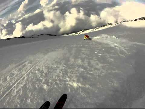 Andy Traslin - Mt.Fuji climb and ski