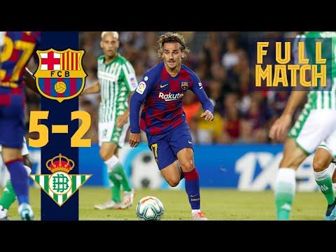 FULL MATCH: Barça 5 - 2 Real Betis (2019) Five star performance lights up the Camp Nou!