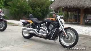 6. Used 2004 Harley Davidson V-Rod Black Motorcycles for sale - St. Petersburg, FL