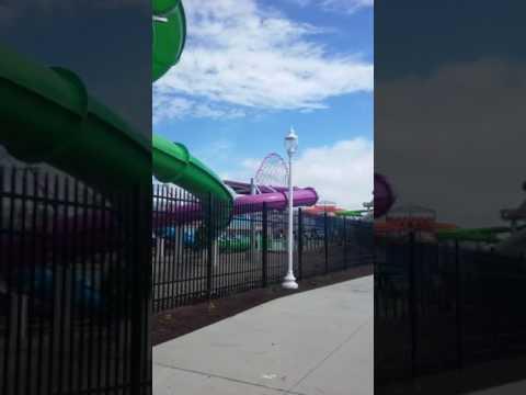 New cedar shores water slides (видео)