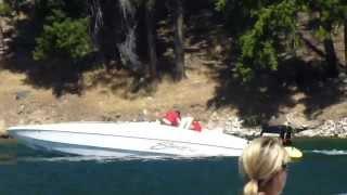 Lake Chelan Boat Poker Run 2013 Miami Vice Video By Darren Malone