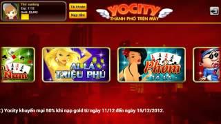 Yocity- Đánh bài,tiến lên,phỏm YouTube video