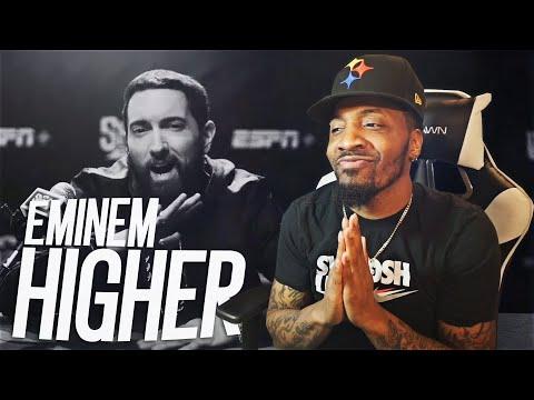 Eminem - Higher (Official Video) (REACTION!!!)
