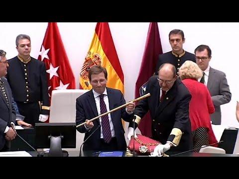 Neuer Bürgermeister Martínez-Almeida in Madrid - Bürge ...