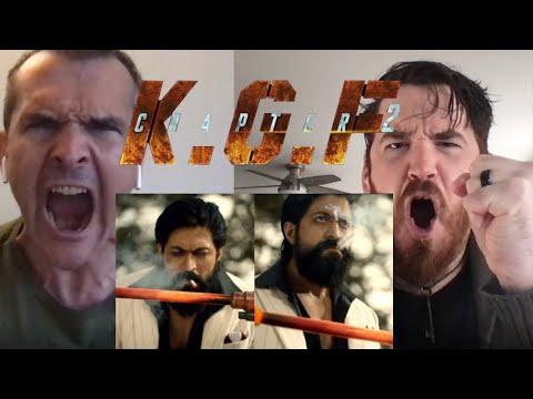 KGF Chapter 2 TEASER REACTION!!  | Yash | Sanjay Dutt | Raveena Tandon | Srinidhi Shetty