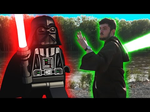 Real Life Lego Star Wars Battle