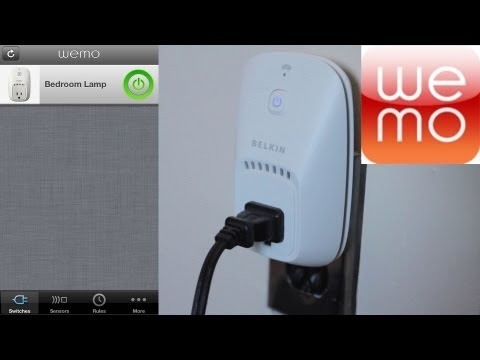WeMo by Belkin Review - Remote Controlled iOS Power/Light Switch | WikiGameGuides