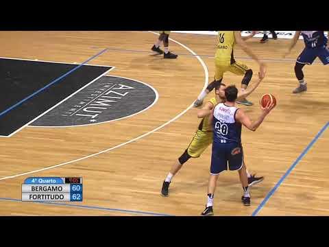 Fortitudo, gli highlights del match contro Bergamo