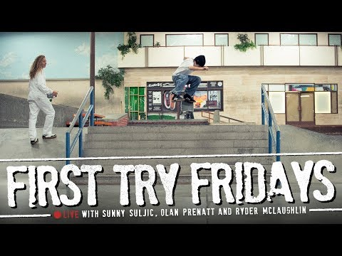 'mid90s' Cast - First Try Fridays… Live!