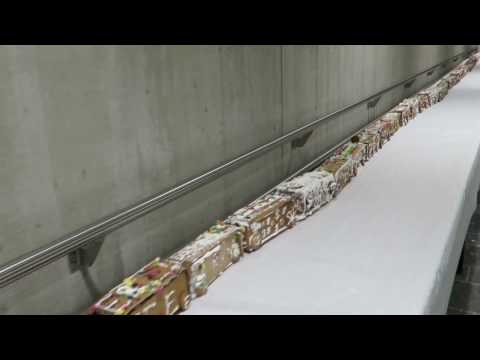 The World's Longest Gingerbread Train!