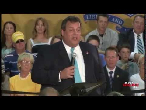ChrisChristieVideos - Chris Christie reviews world historic events that have happened in less than 736 days, (AKA less time than it has taken the New Jersey legislature to have a ...
