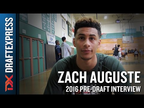 Zach Auguste Interview from Pensack Sports Pro Day