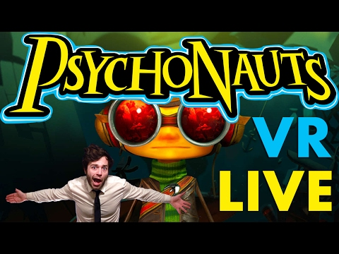 VR Psychonauts - Rhombus of Ruin PlayStation VR Full Gameplay