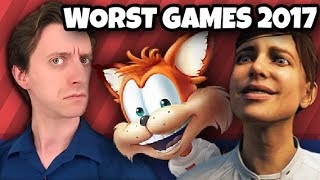 Video TOP TEN WORST GAMES of 2017 - ProJared MP3, 3GP, MP4, WEBM, AVI, FLV Maret 2018