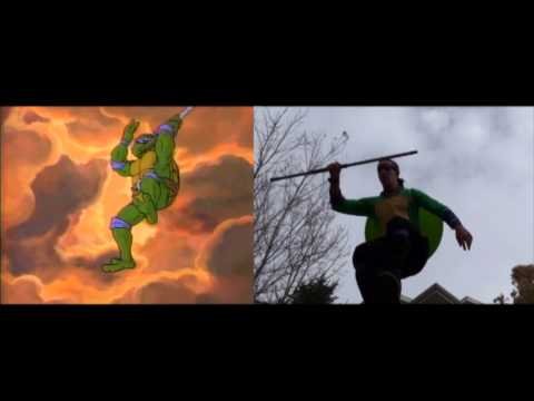 Live Action TMNT Intro