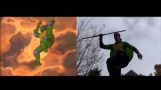 Live Action Teenage Mutant Ninja Turtles Cartoon Intro
