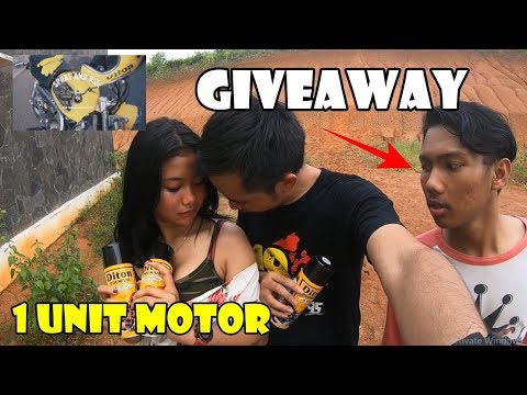 Giveaway 1 Unit Motor & 4 Safety Gear