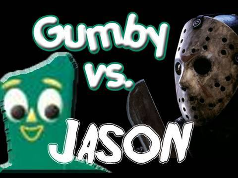 Jason Vs Gumby (What we did on Halloween 2003)
