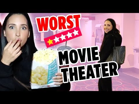 Nail salon - I WENT TO THE WORST REVIEWED MOVIE THEATER IN MY CITY ON YELP (1 STAR )  Mar