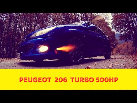 Peugeot  206  Turbo 500hp  Powertech