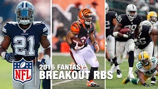 NFL Fantasy Live debates the potential breakout fantasy running backs to target for your fantasy football team in 2016. Subscribe ...