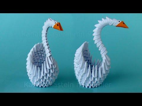 Cisne em 3D - modelo 2