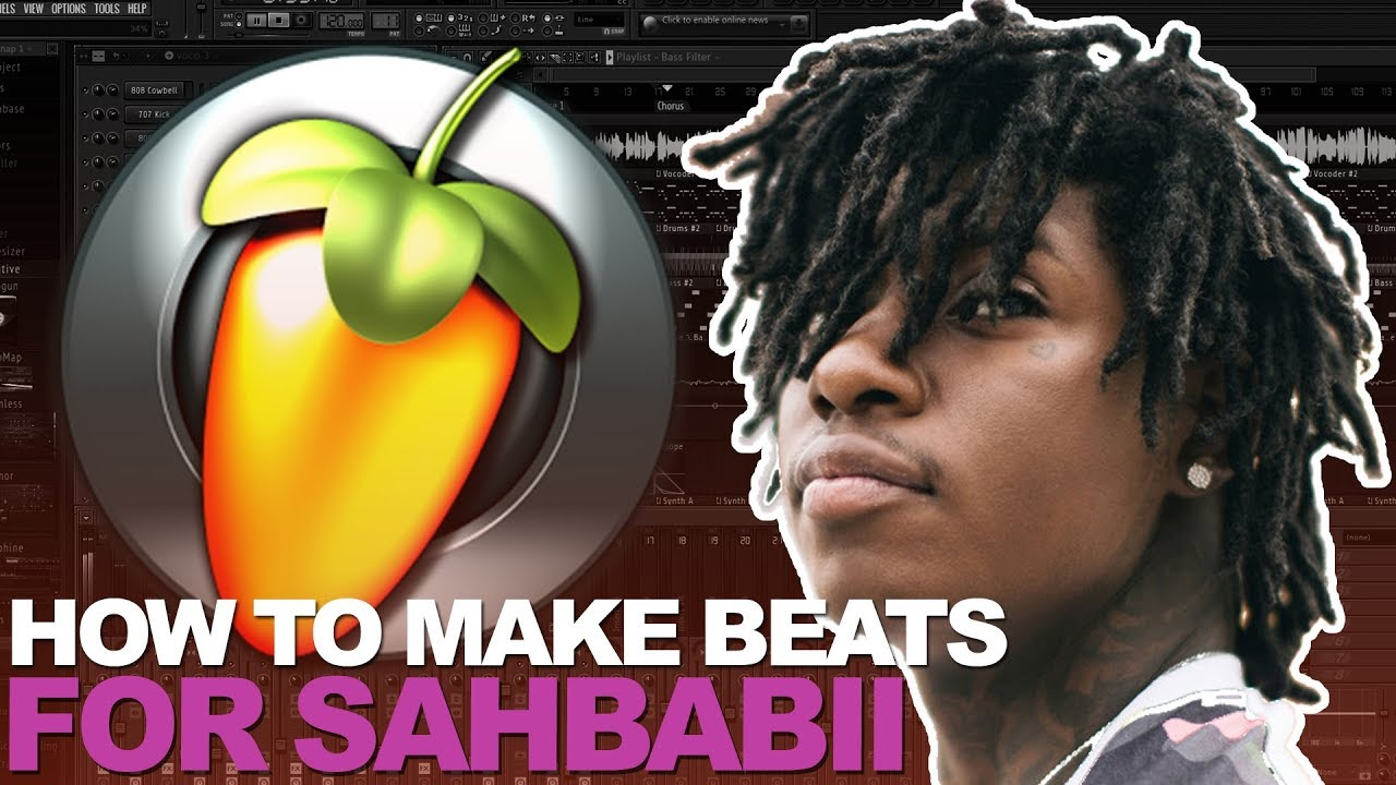 HOW TO MAKE SAHBABII TYPE BEATS | FL STUDIO GUITAR BEAT COOKUP