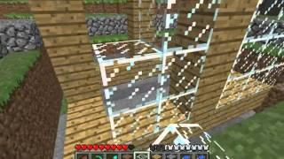 Minecraft Tutorials - 23 - How to Survive&Thrive (Mob Trap)
