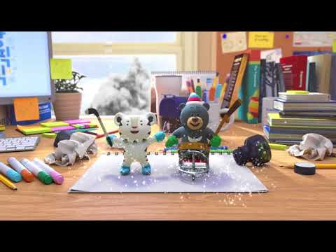 PyeongChang 2018 First Episode of Mascot Animation Video 2018