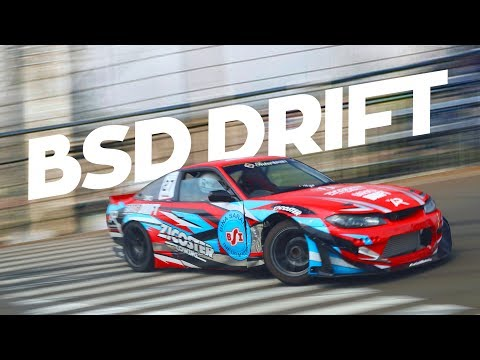 Borong piala di acara Intersport Drift BSD