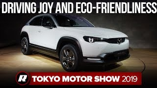 Mazda MX-30 concept: Jinba-ittai, electrified by Roadshow