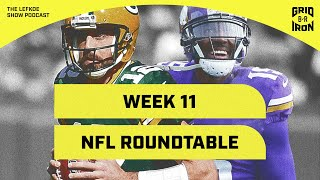 Greg Jennings On Aaron Rodgers, His Epic Madden Clip, and NFL Roundtable! | The Lefkoe Show by Bleacher Report