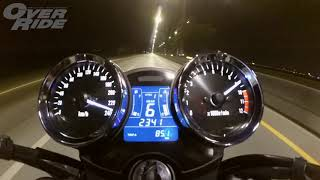 8. Top Speed 2017 Kawasaki Z900 RS