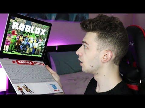 Roblox Sent Me THIS Laptop..