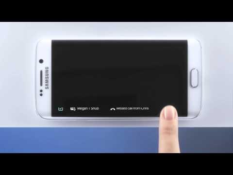 Samsung Galaxy S6 Edge - jak działa zakrzywiony ekran