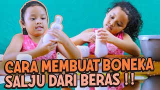 "Video DIY How To Make ""Boneka Salju / Snow Doll"" Dari Beras MP3, 3GP, MP4, WEBM, AVI, FLV Mei 2017"