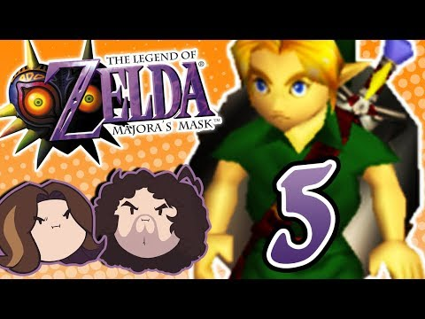 Zelda Majora's Mask: When the Clock Strikes Midnight - PART 5 - Game Grumps (видео)