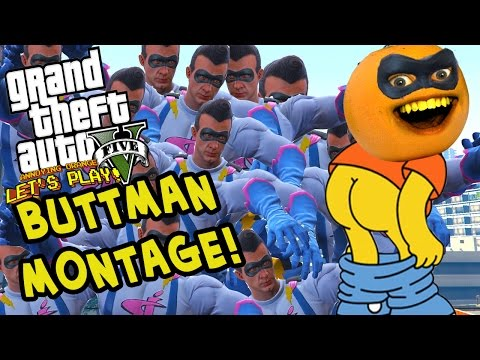 Video Annoying Orange - GTA V: BUTTMAN MONTAGE! (Funniest Moments) download in MP3, 3GP, MP4, WEBM, AVI, FLV January 2017