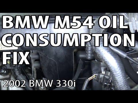 BMW E46/E39 M54 Engine Oil Consumption Fix (02Pilot Mod)
