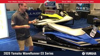 6. 2020 Yamaha WaveRunner EX Series Walk Around Details