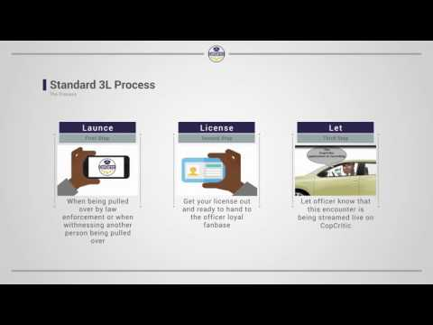 CopCritic Mobile Application and Website Presentation