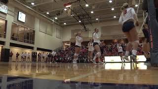2017 Volleyball vs. Doane