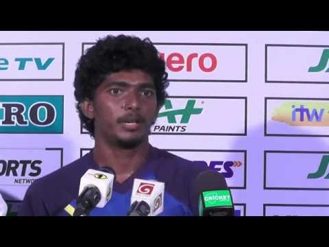 Post Match Press Conference with Lakshan Sandakan